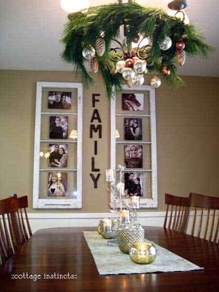 Window Framed Family Keepsakes