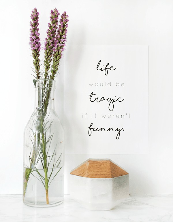 Enchanting Wall Art With A Sweet Quote