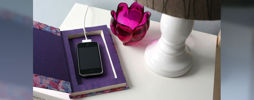 cell phone charging station diy