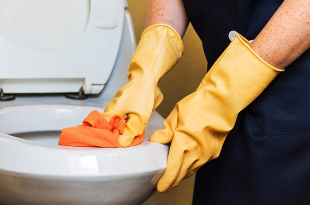 using a green cleaning service