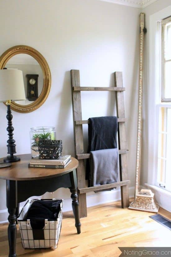 DIY wood ladder