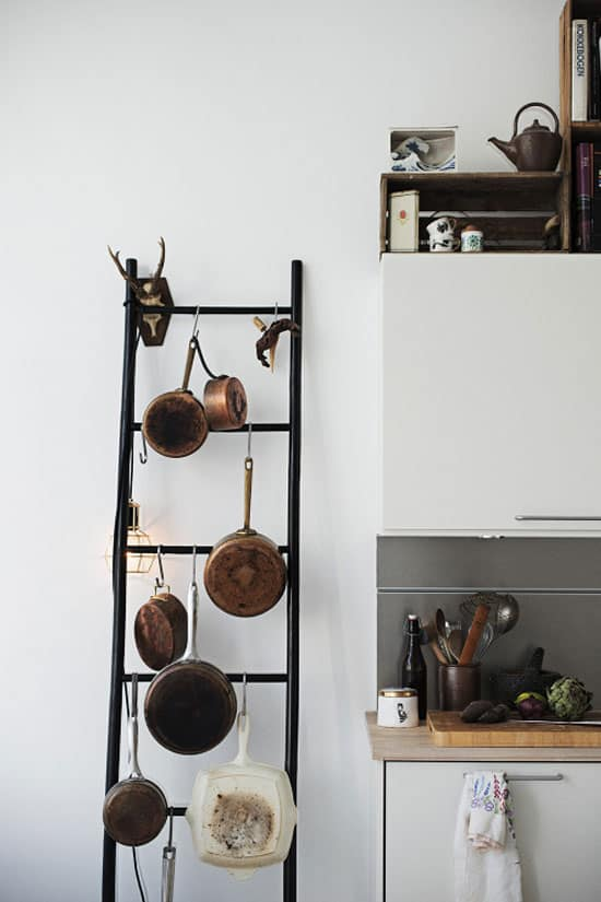 Primitive kitchen ladder
