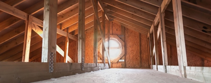 How to stop attic condensation