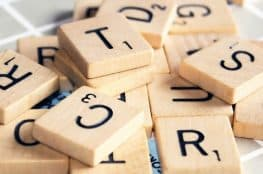 Scrabble wall art decor ideas