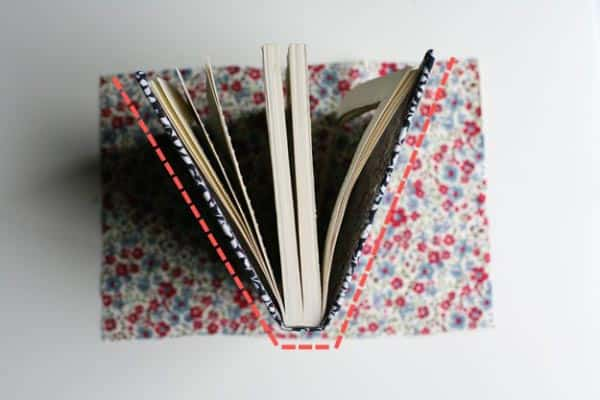 How to make a DIY book clutch