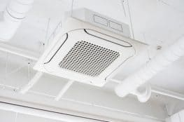 Air purifier in AC system