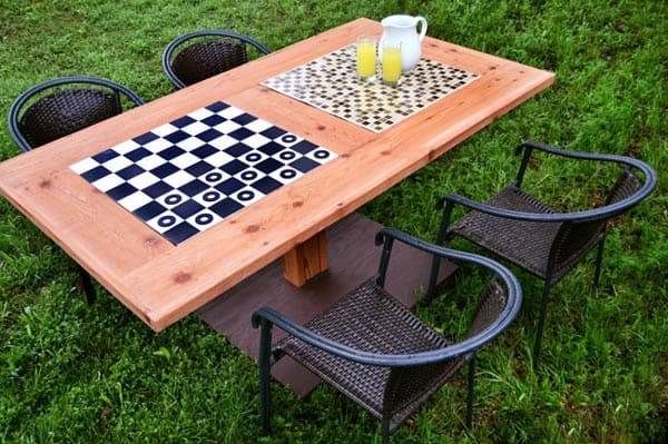 Portable Outdoor Gaming Table