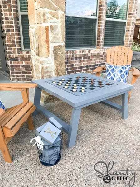 Outdoor Gaming Table