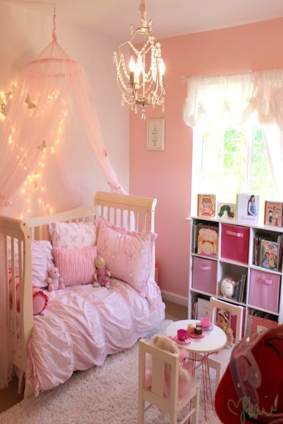 A Chic Toddler Room