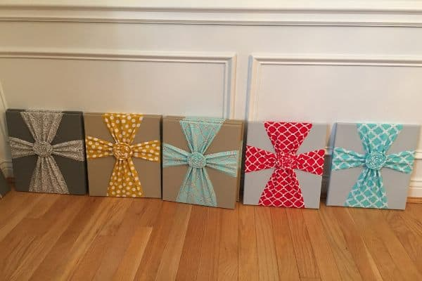 Cross Fabric Wall Decor