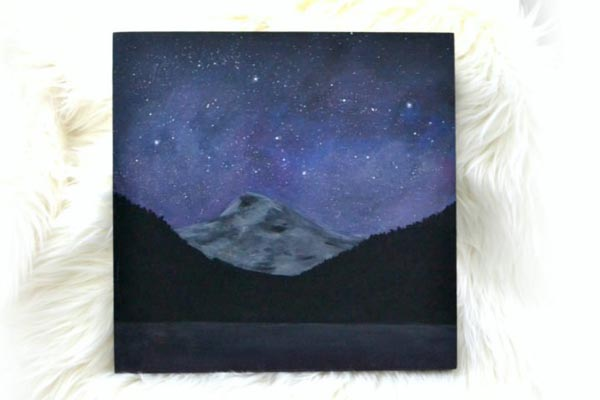 Night-Sky-Mountain-Painting