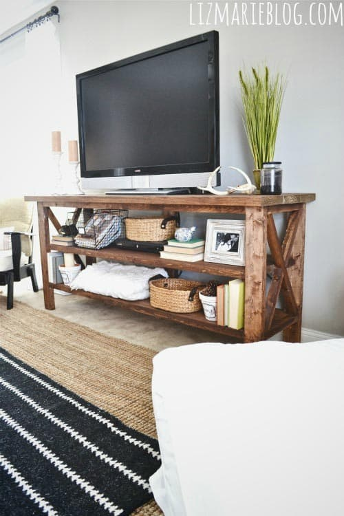 Rustic-Wood-TV-Console