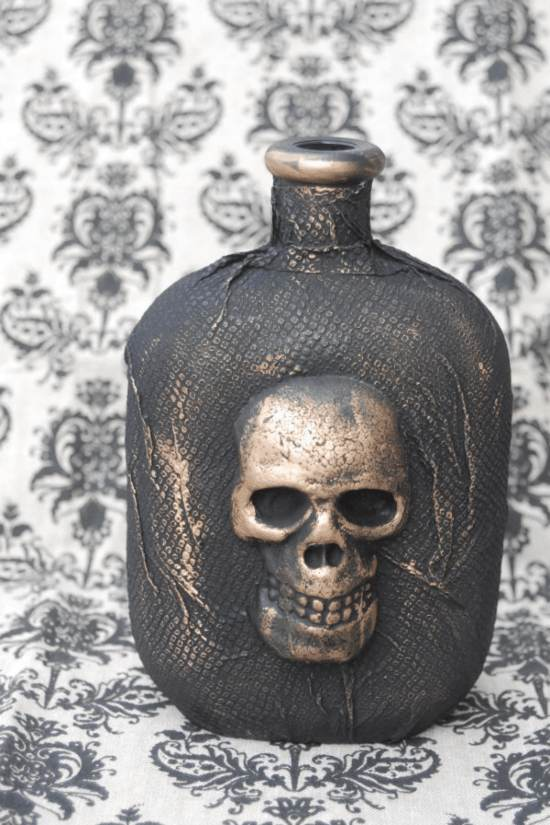 Skull Potion Bottle