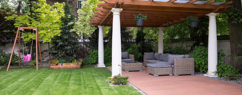 beautiful gazebo for outdoor spaces