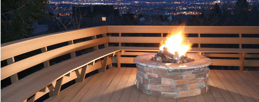 Ideas for building a diy deck fire pit in your yard