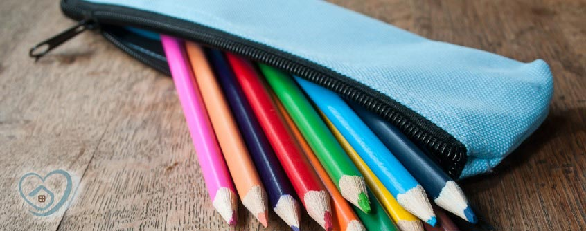 DIY no sew pencil case