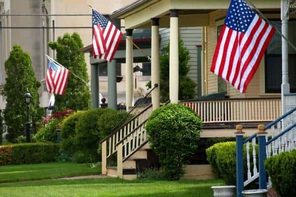 flags-curb-appeal
