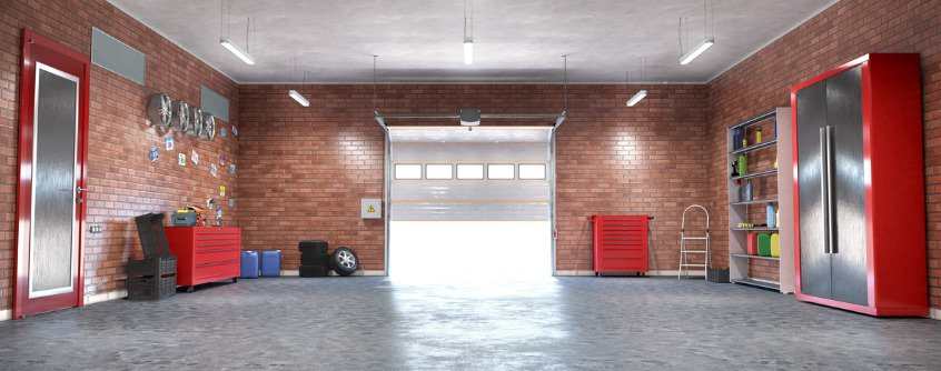 functional garage for diy projects