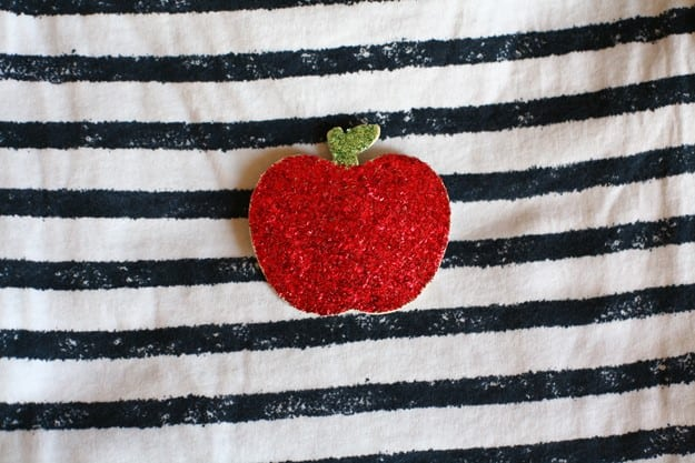 Glitter apple pin final