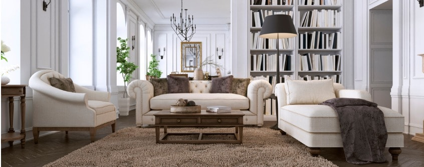 luxury furniture in your house