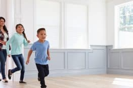 moving day with children