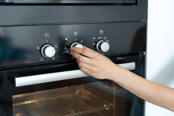 not using oven