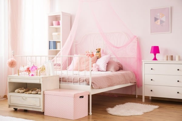 pink-bed-net