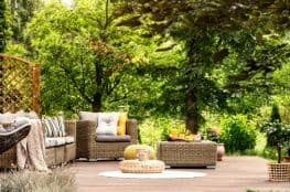 quality outdoor living space