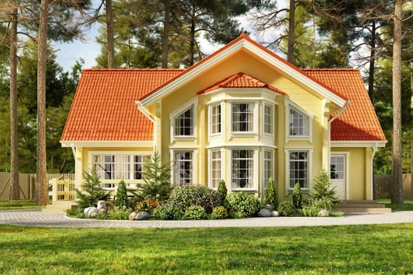 red-roof-house