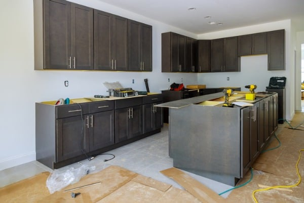 start remodeling the kitchen