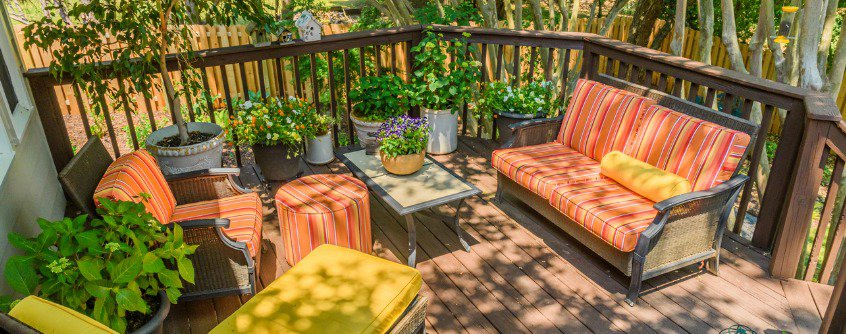 summer deck design idea